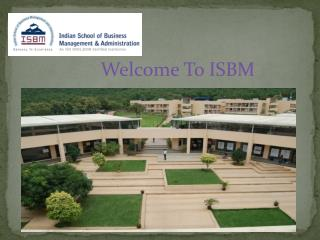 Why ISBM Is Best College For Post Graduation?