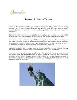 Statue of Liberty Tickets @ATTRACTIONS4US