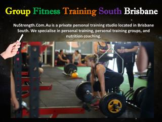 Group Fitness Training South Brisbane