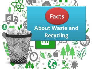 Facts About Waste and Recycling
