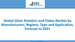 Global Silver Powders and Flakes Market by Manufacturers, Regions, Type and Application, Forecast to 2021