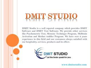 DMIT Test Software - DMIT Studio