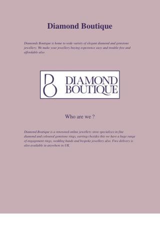 Stunning Platinum Engagement Rings UK