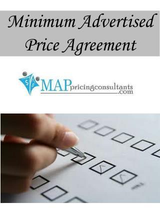 Minimum Advertised Price Agreement