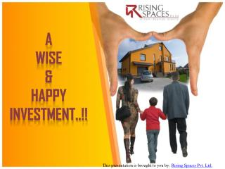 Investment Plots in Pune - A Wise & Happy Investment