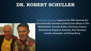 Dr. Schuller
