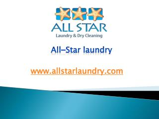 All-Star laundry - www.allstarlaundry.com