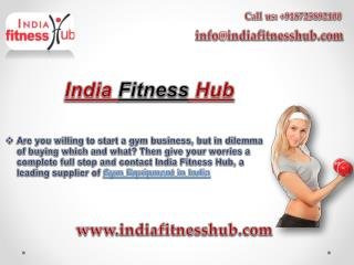 Buy Home Gym Equipment Online at India Fitness Hub