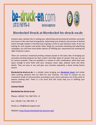 Bierdeckel Druck at Bierdeckel-be-druck-en.de