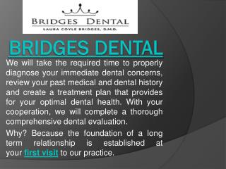 Comfortable Dental Care with Valrico Dentist at Bridges Dental