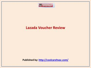 Lazada Voucher Review