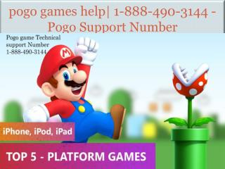 pogo games help| 1-888-490-3144 - Pogo Support Number
