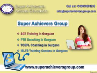 Find Best SAT Training in Gurgaon with Superachieversgroup