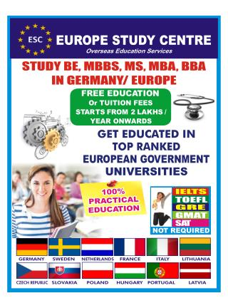 Free Study in University of Wismar Germany, NO Tuition Fees