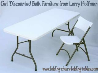 Get Discounted Bulk Furniture from Larry Hoffman
