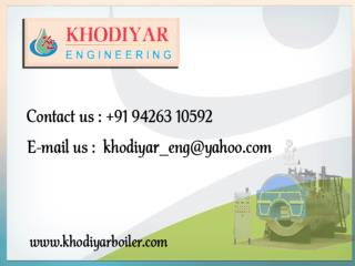 Hot air generator manufacturers, Industrial steam boilers India