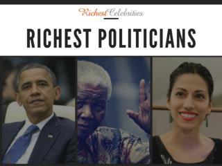 Richest politicians