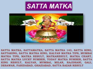 Enjoy Every Minute at Satta Matka