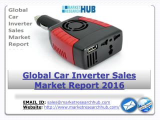 Global Car Inverter Sales Market Report 2016