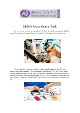Mobile Repair Centre Nasik
