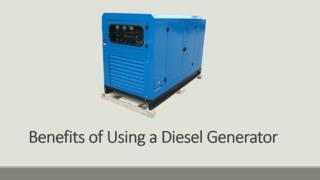 Benefits of Using a Diesel Generator
