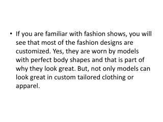 Best Custom Tailored Suits