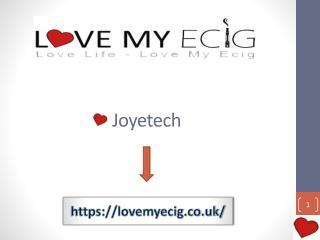 Joyetech E Cigarette Starter Kit UK