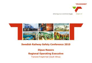 Swedish Railway Safety Conference 2010