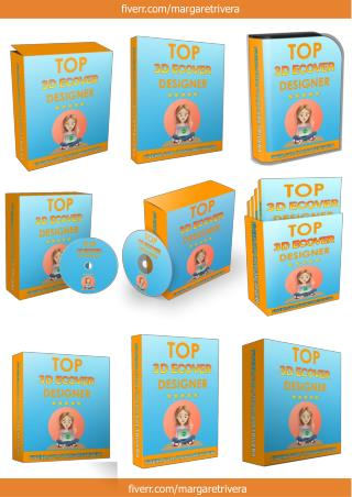 Box Cover_3D Ebook Cover Report Box CD DVD Template