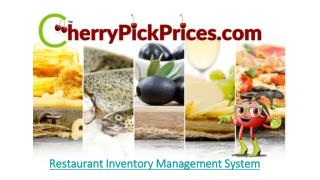 PPT - Restaurant Inventory Management System PowerPoint ...