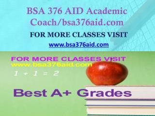 BSA 376 AID Dreams Come True /bsa376aid.com