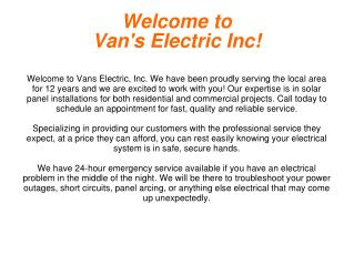 Electrical contractor Pearl City HI