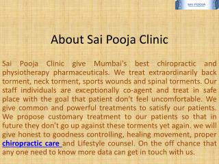 Back Pain Treatment Mumbai