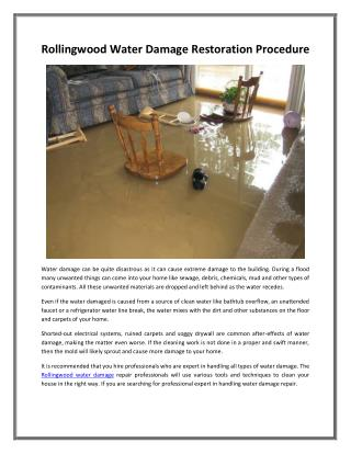 Carrollton Water Damage