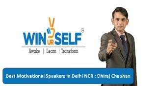 Skills Motivational Speaker in Delhi NCR