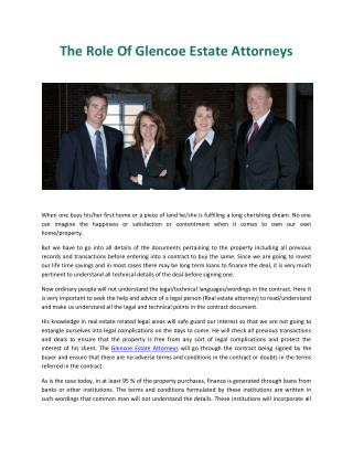 Glencoe Estate Attorneys