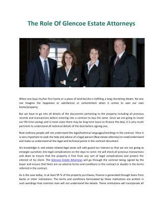 Glencoe Estate Attorneys