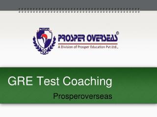 GRE Test, GRE exam, Graduate Record Examination (GRE) - Prosperoverseas
