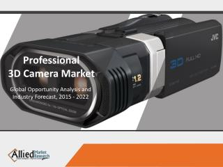 Global Professional 3D Camera Market is expected to reach $4.1 Billion