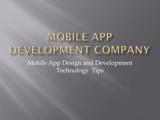 Mobile app designer & developer developing mobile apps