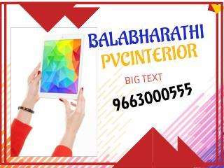 pvc modular kitchen - BalaBharathi