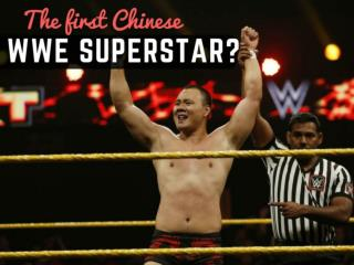 The first Chinese WWE superstar?