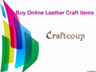 Buy Online Leather Craft items |Leather Crafts Online |Buy Leather Craft Items