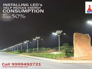 Install integrated solar LED Street light by best lighting system manufacturer or exporter in Delhi.