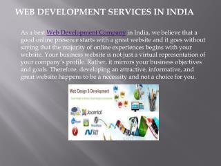 Web Development India