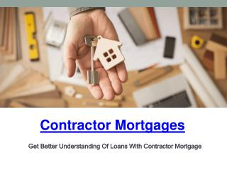 contractor mortgage broker