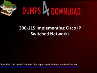 Buy 300-115 Cisco Verified Exam Questiions