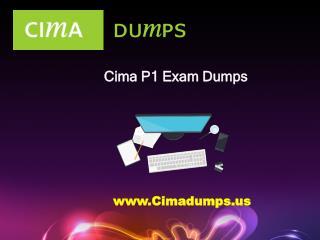 Download Actual CIMA P1 Dumps PDF From - Cimadumps.us