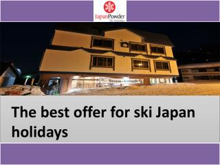 Famous Ski Resorts in Japan